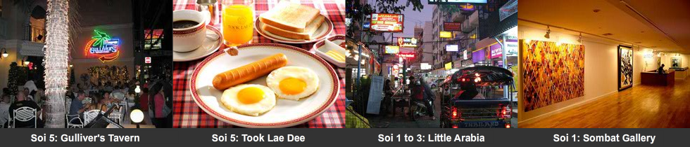 Soi 1 to 5 attractions